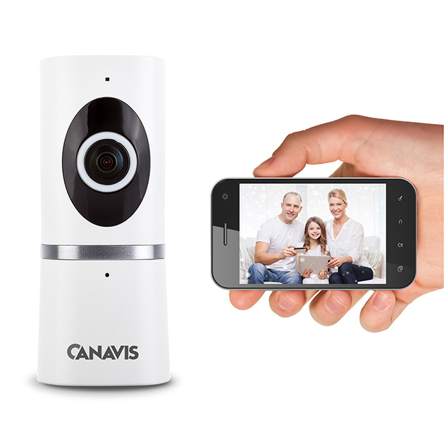 CANAVIS180 degree VR Security Camera