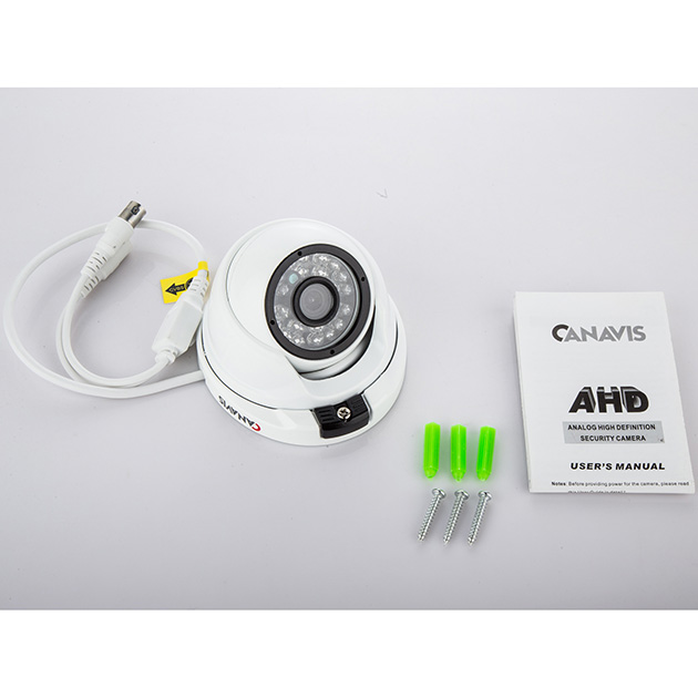 CANAVIS HD 720p Video Security Dome Camera