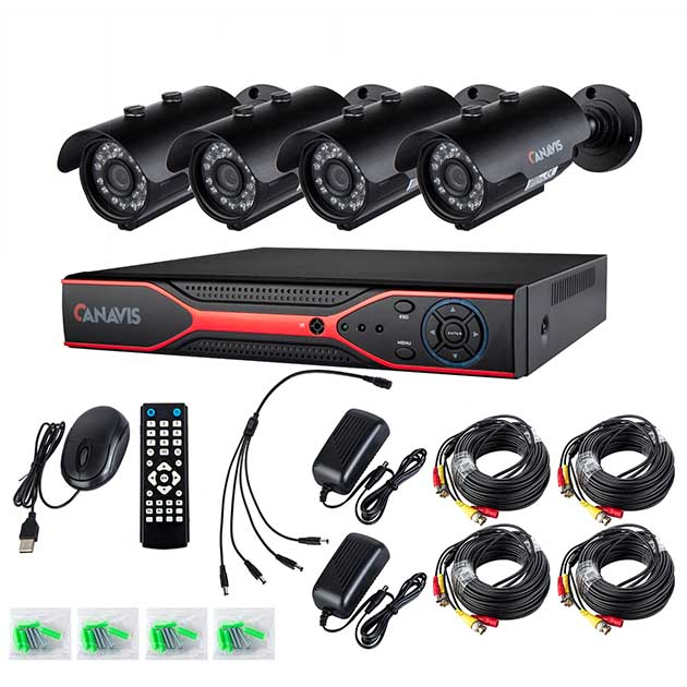 CANAVIS AHD CCTV Security Camera System